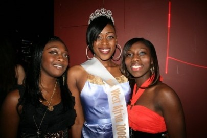 Amina Kamara Celebrates Victory At Afterparty With Friends