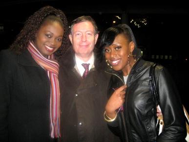 MWA Int 2008, Amina Kamara Invited To Cocktail Dinner By James Dummer