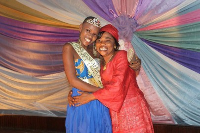 Hawa Kamara is crowned Miss West Africa Sierra Leone 2012