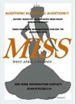 Auditions For Miss West Africa Sao Tome And Sweden begins.