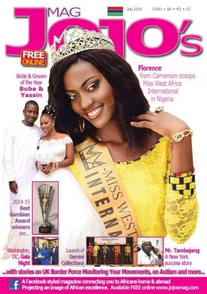 Florence Epee Covers Jojo Magazine
