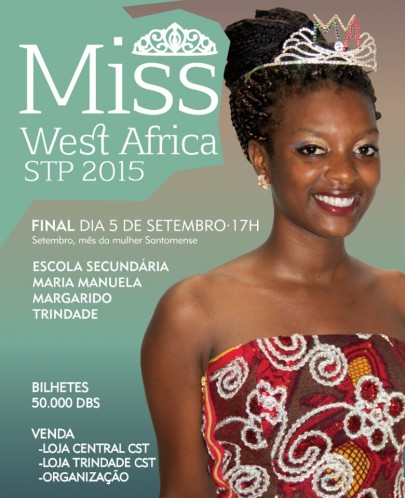 Miss West Africa Sao Tome E Principe Scheduled For September 5