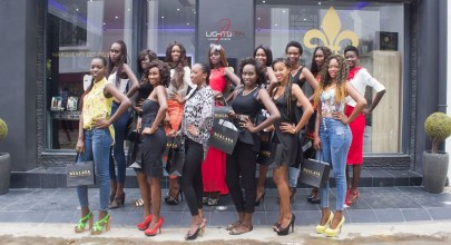 Miss West Africa Senegal Contestants Visits Their Official Jewellery Sponsor