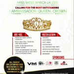 The Search For Miss West Africa UK Begins