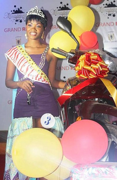 Ayi Charlene Wins Miss West Africa Togo 2015