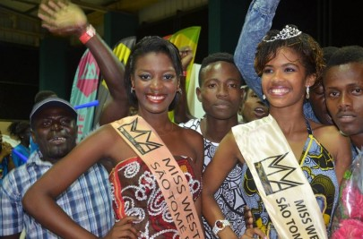 Maria Peris Wins Miss West Africa Sao Tome 2015