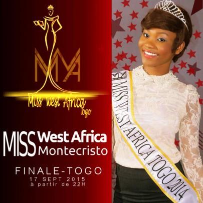 Miss West Africa Togo 2015 finals On 17th September
