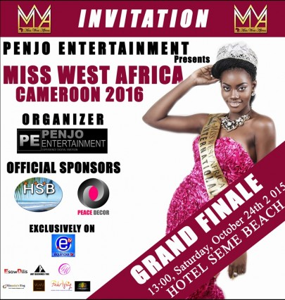 Miss West Africa Cameroon Finals On 24th October, 2015