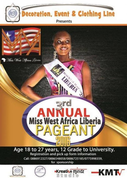 Miss West Africa Liberia 2015 Begins