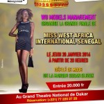 Miss West Africa Senegal 2016 Finals On 28th January