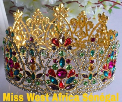 The Beautiful Crowns For Miss West Africa Senegal 2016 Winners