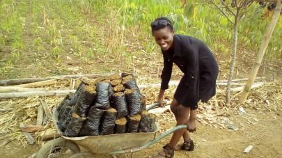 Fonje Jency Voluntarily Helps Community Farmers