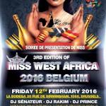 Miss West Africa Belguim 2016 Begins