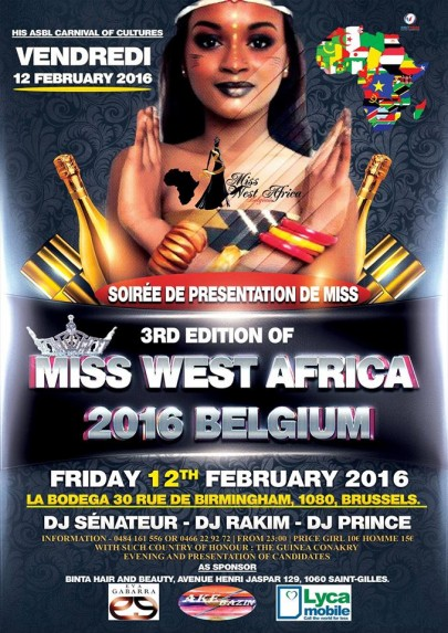 Miss West Africa Belguim 2016 Begins