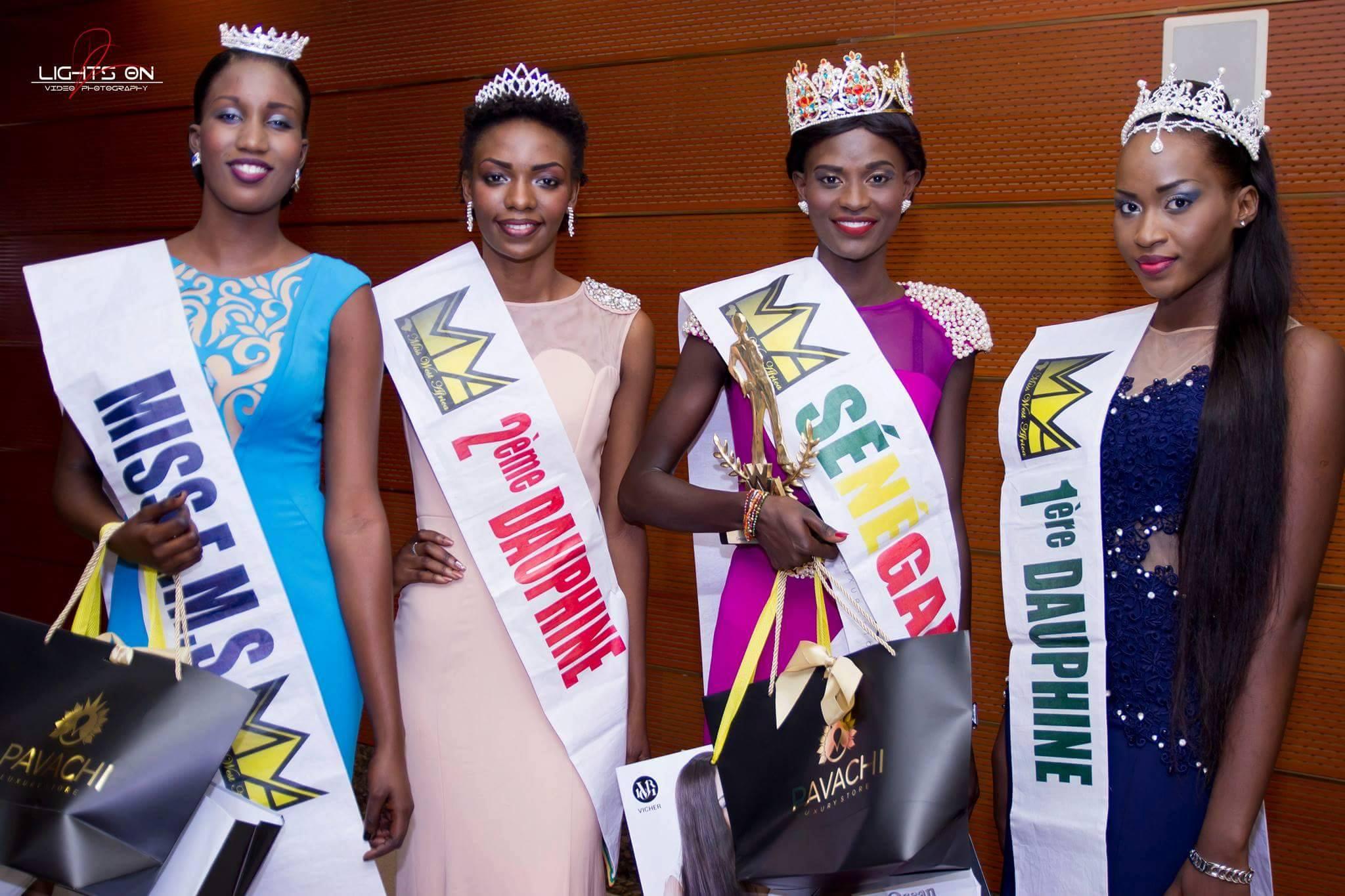 Maimouna Camara Wins Miss West Africa Senega 2016