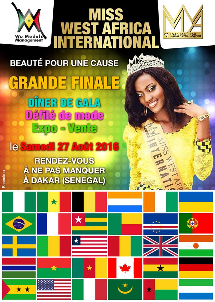 ATTENTION: Miss West Africa International International 2016 Set To Happen In Senegal