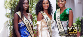 Dandira & Runners Up Stun Fabulous In Official Miss West Africa VI Winning Pictures